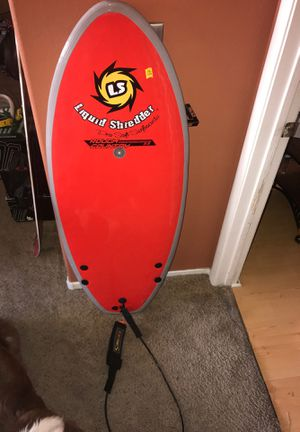 """Liquid shredder soft surfboard touch country 4'2"""" x 19.3"""" x 2.3"""" for Sale in Las Vegas, NV"""