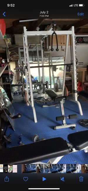 Parabody Smith Machine W/ Weights for Sale in Des Plaines, IL