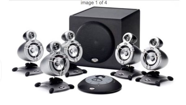 Klipsch GMX-D5.1 Multimedia Computer Speaker Surround Sound System