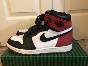 Jordan 1 Black Toe 2016 Size 9.5 (No Box) for Sale in Austin, TX