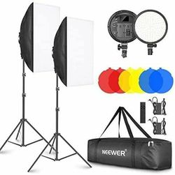 Neewer 2-pack softbox lighting kit CF d for Sale in Phoenix,  AZ