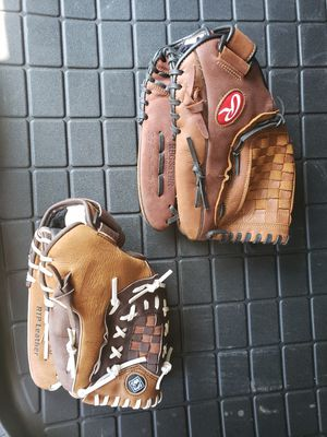 Rawlings and Franklin Baseball Glove set for Sale in Snohomish, WA