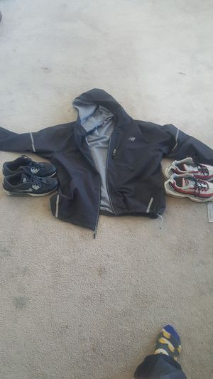 New balance jacket new 35 air mixs 25 each pair for Sale in Germantown, MD