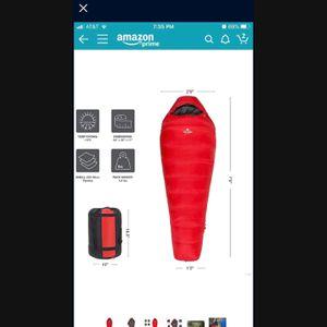 Teton Sports Synthetic Down Sleeping Bag (-10 Degrees) for Sale in San Bernardino, CA