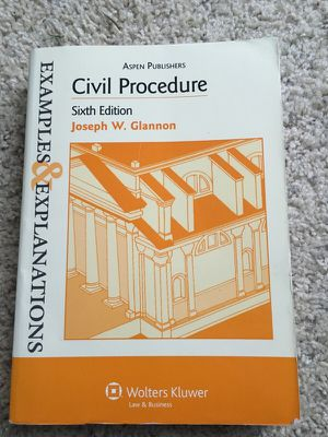 Civil Procedure - Examples & Explanations for Sale in San Diego, CA