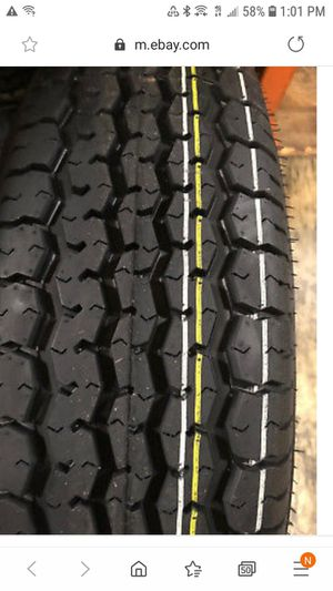 ST205/75R15 NEW GALLANT TRAILER TIRES 8PLY / free installation NO TAX for Sale in Los Angeles, CA