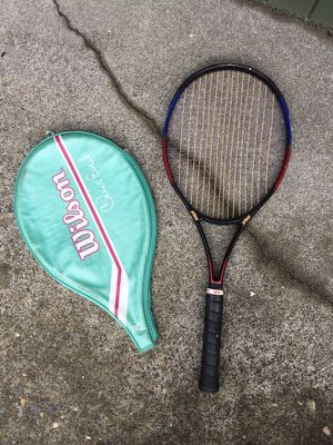 Prince Thunder 820 tennis racket with cover for Sale in Seattle, WA