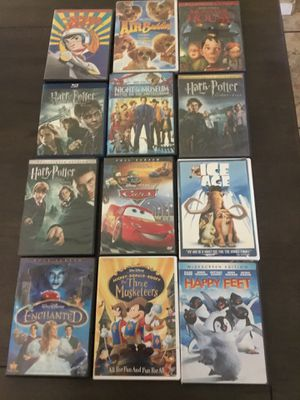 Dvd movies $2 each or 3 for $5 or 7 for $10 for Sale in Wasco, CA