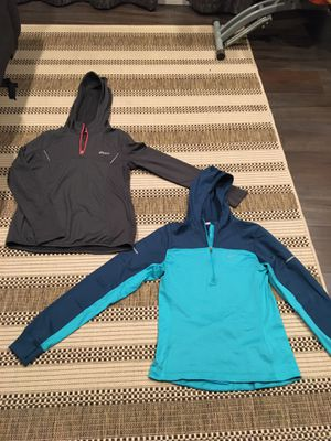 Womens Nike Asics Running Jacket 1/4th Zip Pullover Hoodie Small for Sale in Westminster, CA