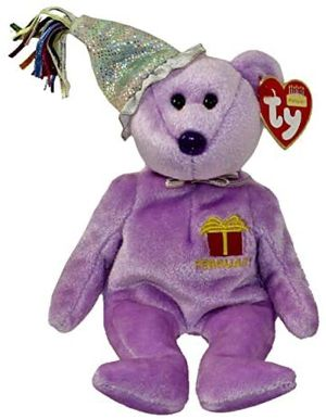 February birthday ty beanie baby for Sale in Oceanside, CA