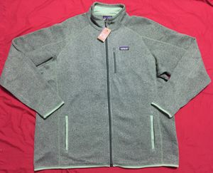 PATAGONIA Better Sweater Jacket 3XL Matcha Green for Sale in Queens, NY