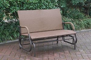 Outdoor loveseat glider on sale only at elegant Furniture 📦🎈 for Sale in Fresno, CA