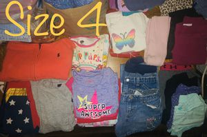 4T toddler girl bundle for Sale in Dallas, TX