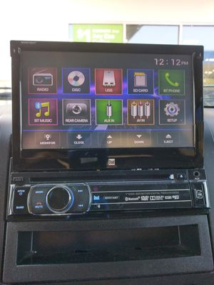 Dual DVD radio with Bluetooth for Sale in Humble, TX