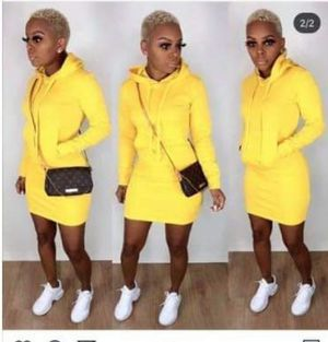 Yellow Sweater Dress for Sale in Donaldsonville, LA