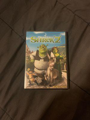 Shrek2 DVD for Sale in Escondido, CA