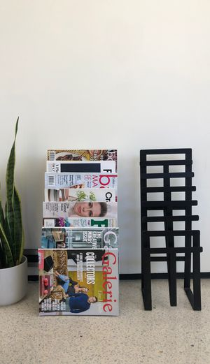 Crate & Barrel Magazine Rack Set for Sale in Los Angeles, CA