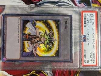 Yu-gi-oh Card Psa 10 Token Trade For Sealed Goodies for Sale in Kagel Canyon,  CA