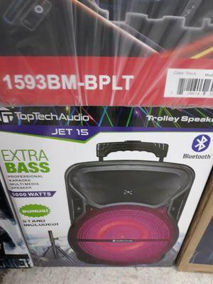 "15"" BLUETOOTH Speaker Rechargeable DJ Karoake All In ONE for Sale in Houston, TX"