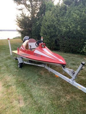 Custom boat for sale 20hp 4stroke for Sale in Warwick, RI