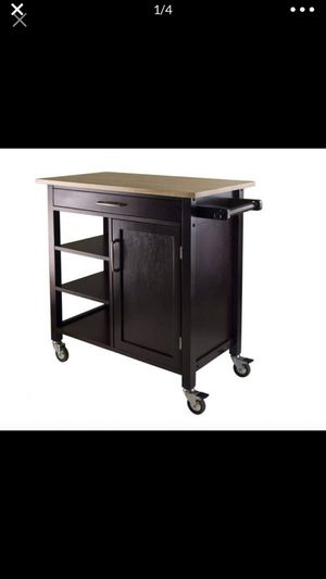 Winsome Mali Kitchen Cart Kitchen Island NEW for Sale in Santa Fe Springs, CA