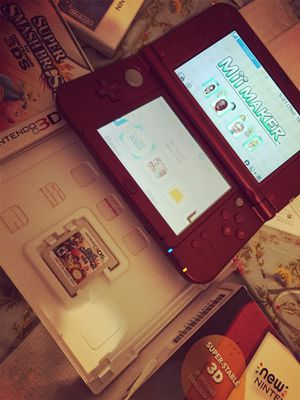 New Nintendo 3DS XL red for Sale in South San Francisco, CA