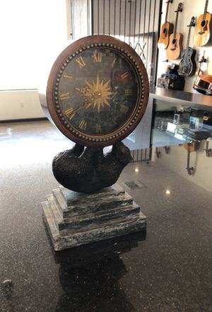 Antique Bear Clock with marbel base. for Sale in Marina del Rey, CA