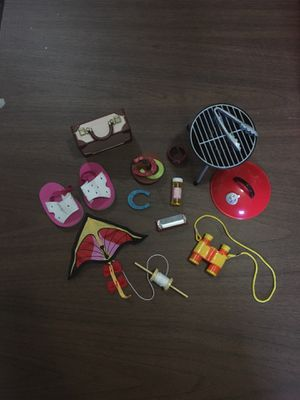 """Outdoor accessories for 18"""" doll for Sale in Inver Grove Heights, MN"""