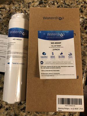 Waterdrop Refrigerator Water Filter (GE-MSWF) for Sale in Kirkland, WA
