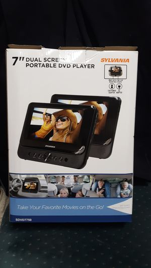 "7"" Dual Screen Portable DVD Player for Sale in Rochester, WA"