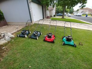 Lawn mower is coming for sale pretty soon for Sale in San Antonio, TX