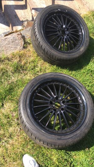 19 inch rims Tires are good for Sale in Hartford, CT