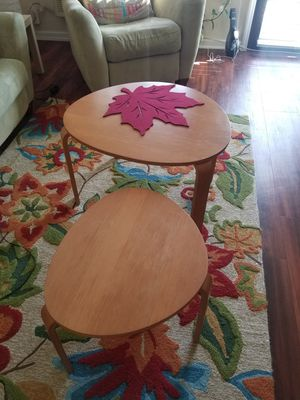 2 center tables and a TV stand for Sale in Alexandria, VA