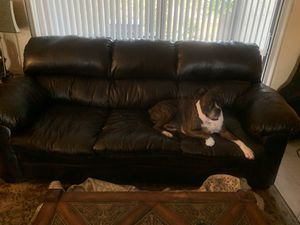 Free Leather Sofa for Sale in Indian Harbour Beach, FL