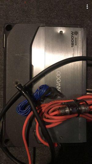 Kenwood Amplifier kac-9104D 1800 watts for Sale in Boston, MA