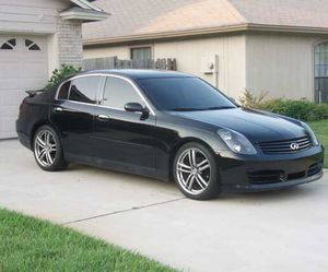 Very clean car INFINITY G 35 for Sale in US