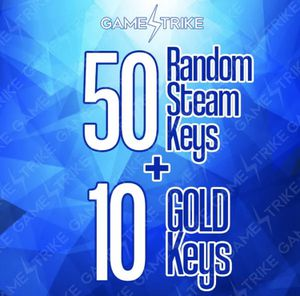 50 Steam Game Keys an 10 Gold Keys Instant Delivery for Sale in Chesapeake, VA