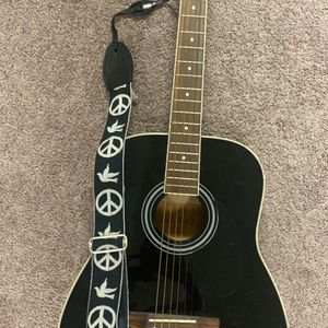 Guitar Carlos Robelli and levy's Case/strap for Sale in Wallingford, CT