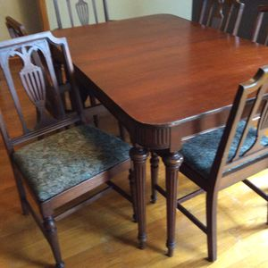 Antique dining room set for Sale in Hinsdale, IL