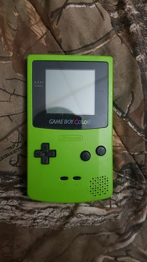 Green Game boy color for Sale in Sunbury, PA