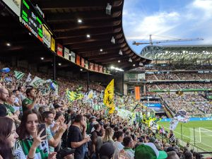 2 Timbers Tickets for 9/18 home game for Sale in Portland, OR