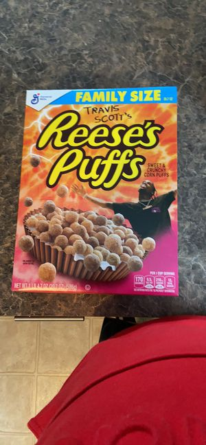 """Travis scott Reese's Puffs """"family size"""" for Sale in O'Fallon, MO"""