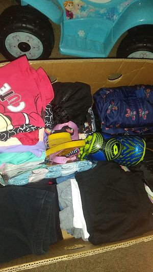 Free goodwill box of kids clothes and shoes for Sale in Portland, OR