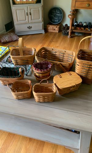 8 Longaberger Assorted Baskets for Sale in Wexford, PA