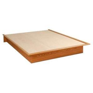 New Oak Look Platform Bed-Full (in box) for Sale in Murfreesboro, TN