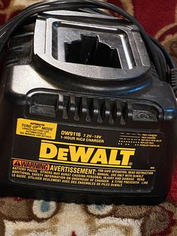 Dewalt DW9116 Battery Charger for Sale in Tooele,  UT