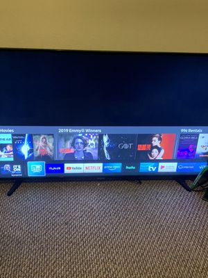 SAMSUNG 55 4K UHD LED SMART TV20p, 60Hz for Sale in Anaheim, CA