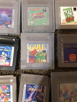 Gameboy Games for Sale in Covington,  WA