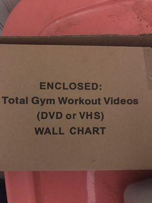 Total gym cds free for Sale in Worcester, MA