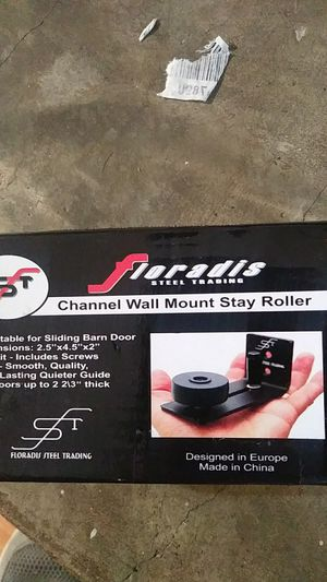 Channel wall mount stay roller for Sale in Pikeville, KY